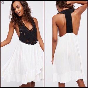 NWOT Free People Various sizes! black-white dress